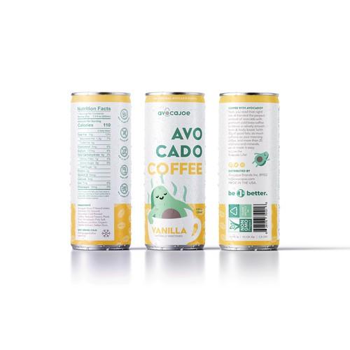 Avocado Coffee Packaging