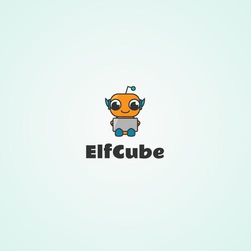 Robot logo for kids