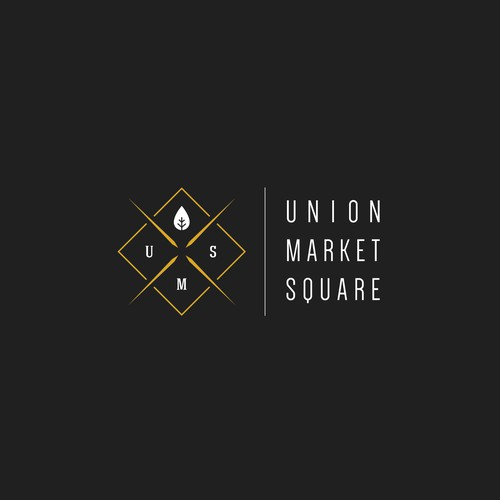 A hipster logo for a market/bistro