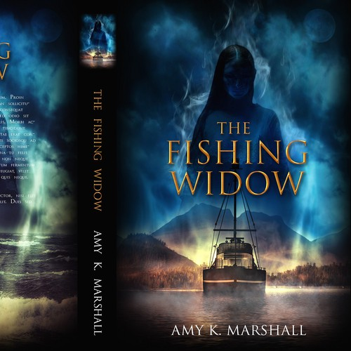 The Fishing Widow book cover for Alaskan Gothic Press