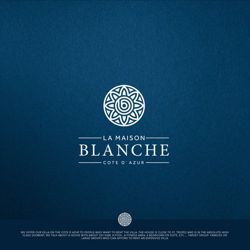 Elegant logo & brand identity for luxury villa