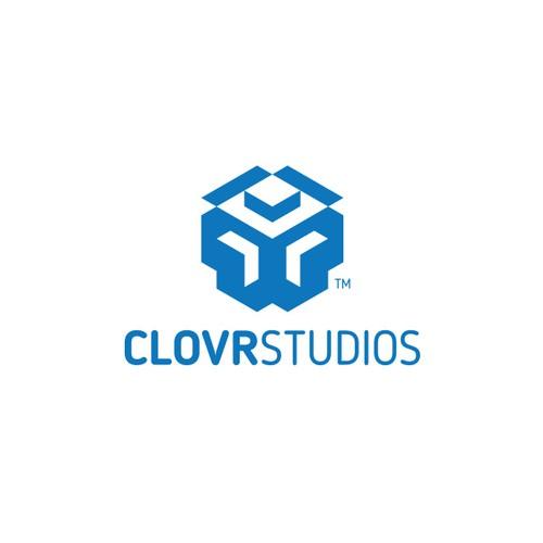 3D Game Logo for ClovrStudios