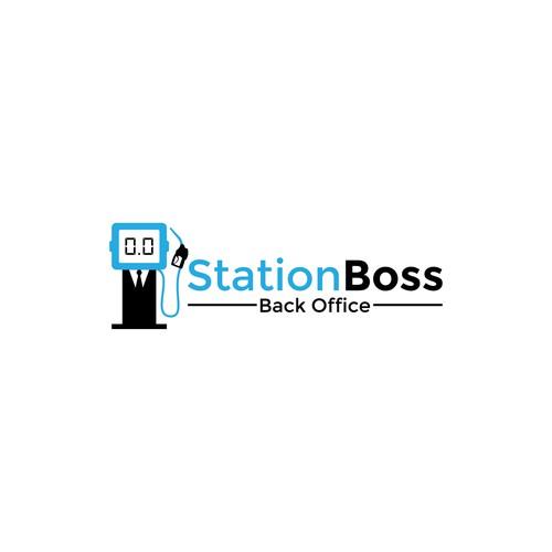 Logo design for StationBoss Back Office