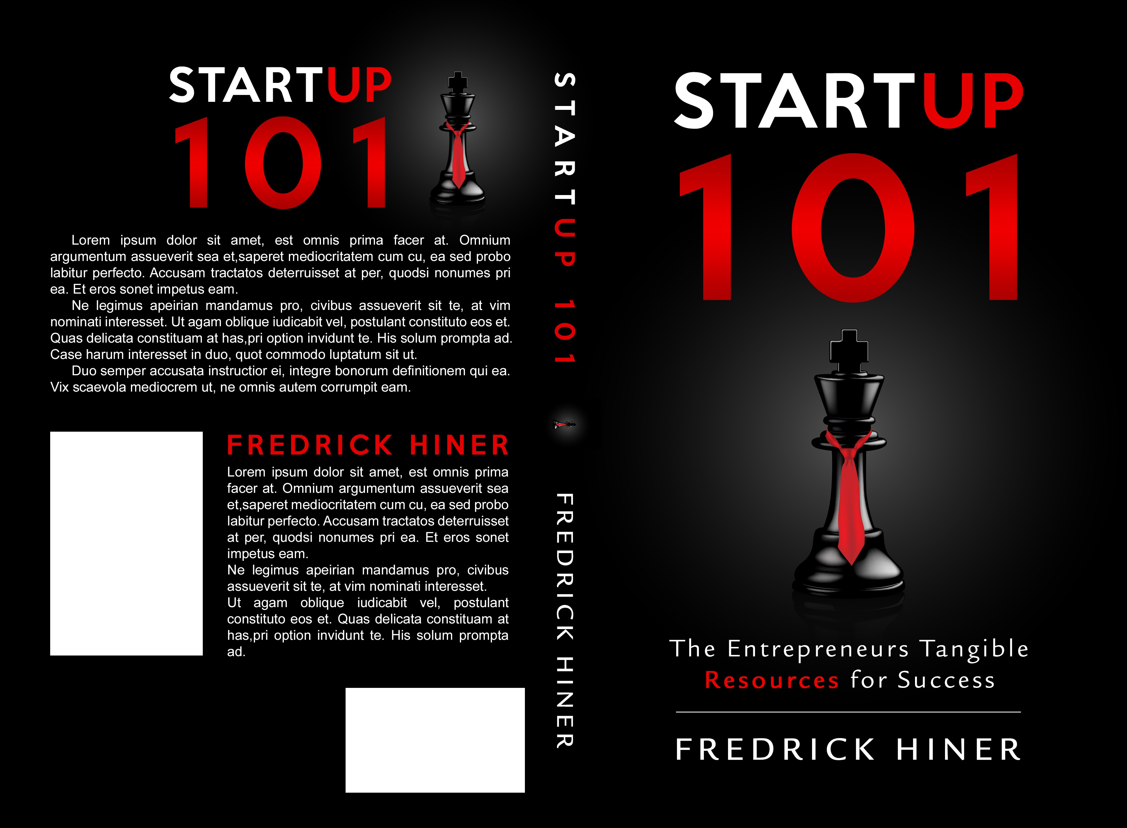 """BOOK COVER        """"StartUp 101"""""""