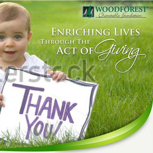 Poster Promotional for Woodforest Charitable Foundation