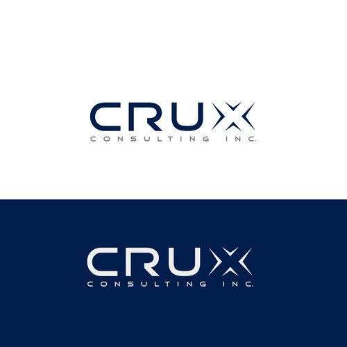 Create a dynamic new logo for Crux Consulting