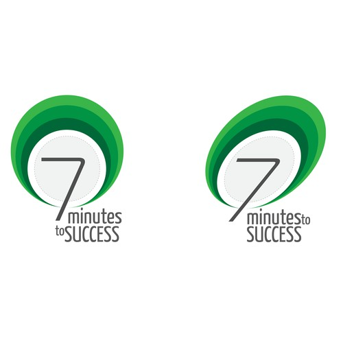 "Proposed Logo Design For a Podcast intitled ""7 minutes to success""."