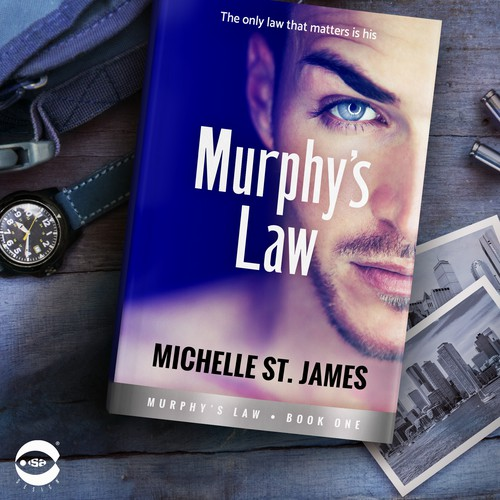 "Book cover for ""Murphy's Law"" by Michelle St. James"