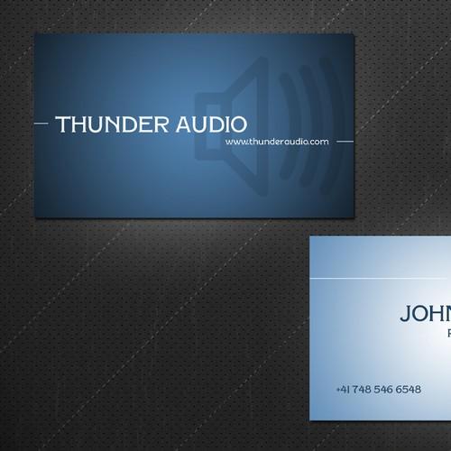 Thunder Audio needs a new stationery