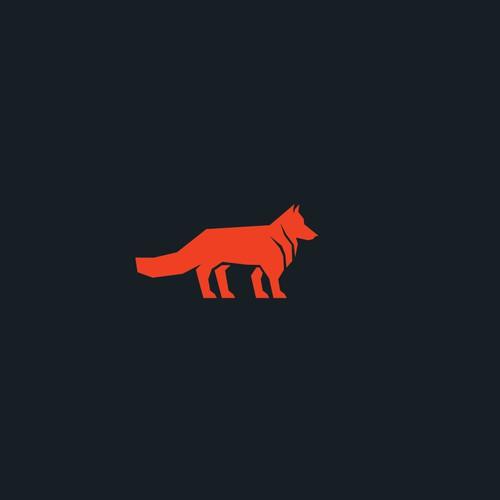 Geometric Wolf logo for Wolf Brink