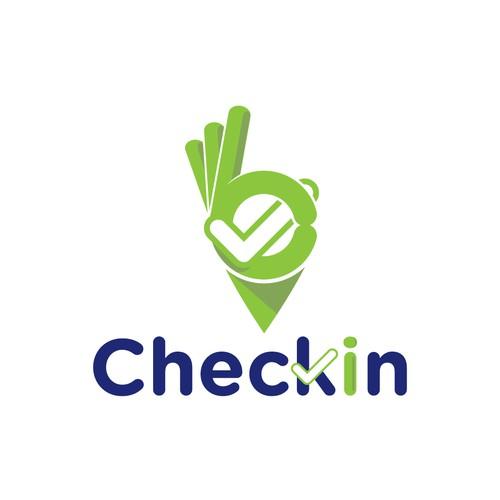 Logo for Checkin