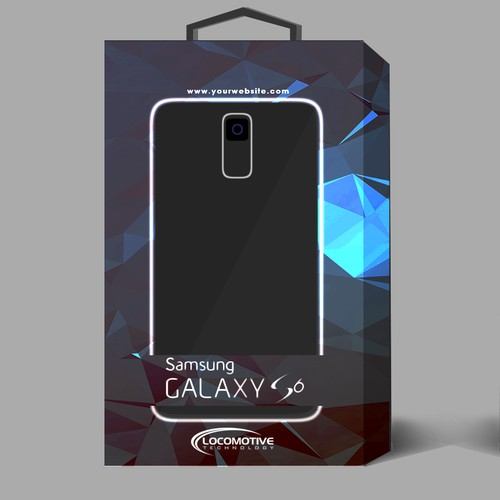 Design Retail Packaging for a Samsung Galaxy 6 Holster Case/Clip/Kickstand