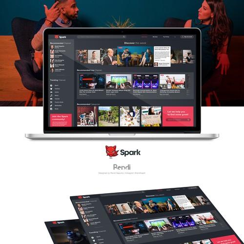 Website Design for Spark