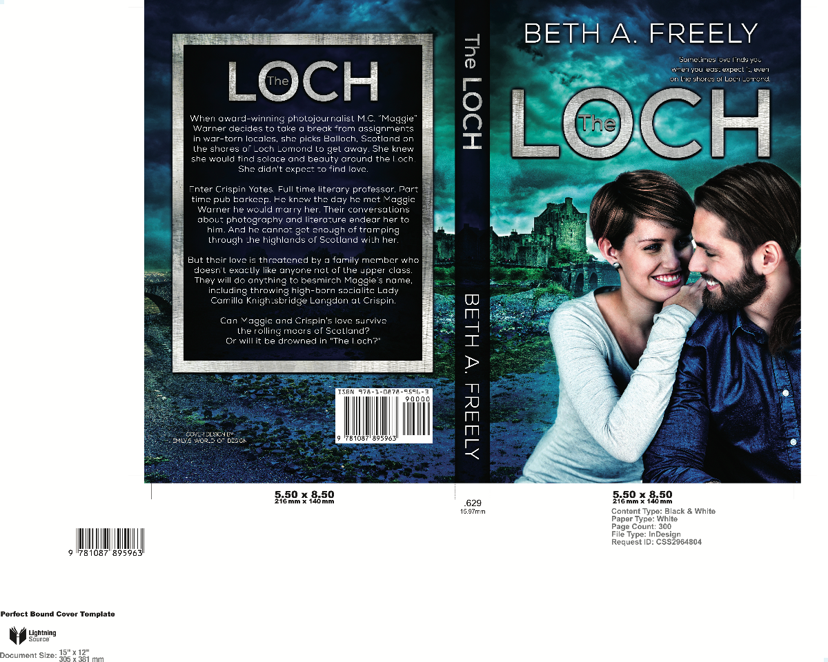 "Book Cover for ""The Loch"""