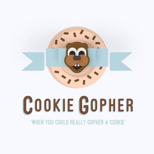 Vector Art for Cookie Gopher