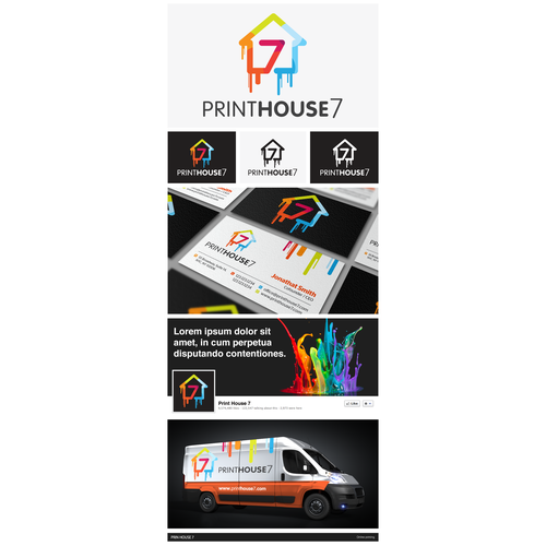 Inspiring branding for Print House 7