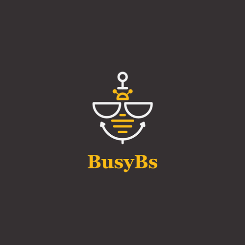 Logo design for Busy Bs