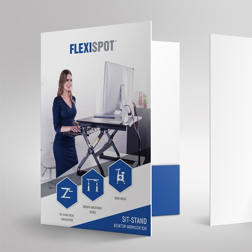 Presentation Folder Design For FlexiSpot