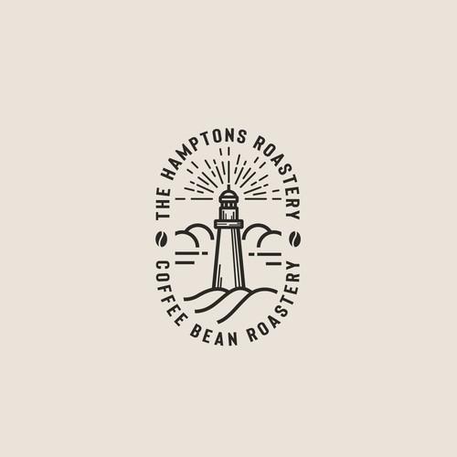 Logo for the Hamptons Roastery.