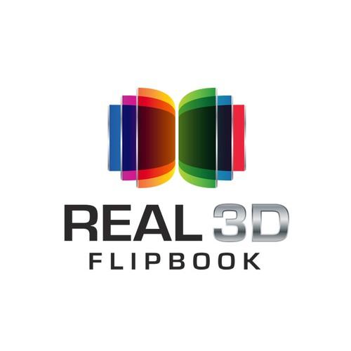 Real 3D Flipbook