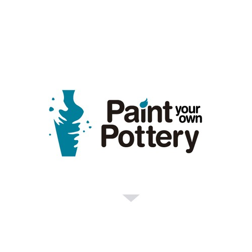 Paint your own Pottery logo