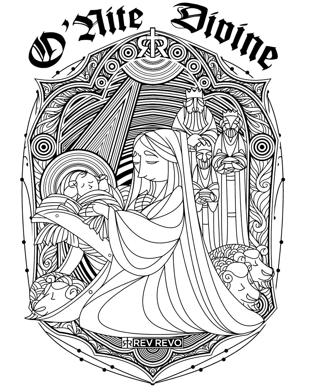 RevRevo_Tshirts (Artistic/Seasonal)- O'Nite Divine