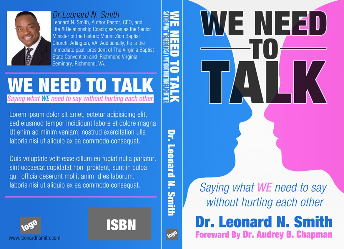 Book Cover design for Leonard N.Smith Ministries