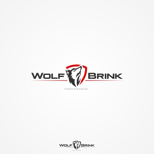 Bold logo concept for Wolf Brink