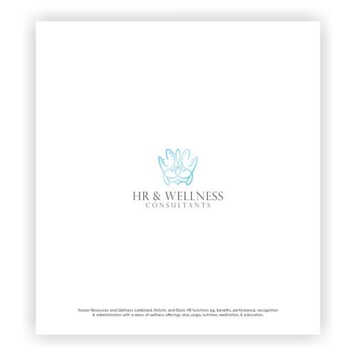 HR & Wellness Consultants Logo Concept
