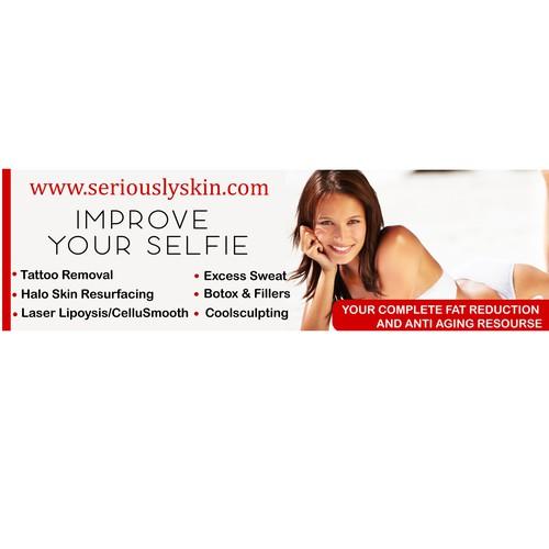 Creative billboard for a Cosmetic Laser Medispa