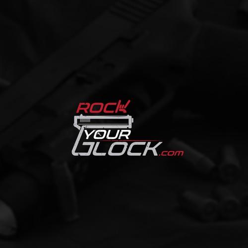 "Logo for ""Rock Your Glock.com"""