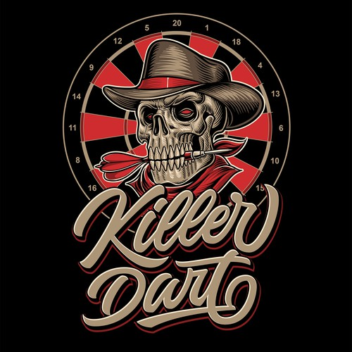Old Skull Killer Dart