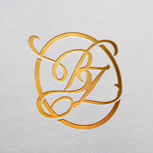 Luxurious initial logo