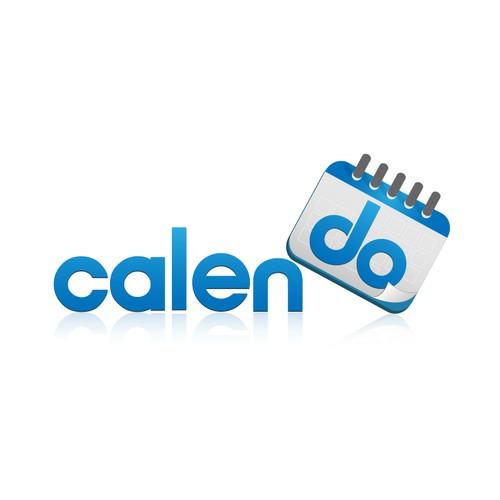 Logo design for calendo