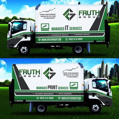 IT Compay Truck Wrap