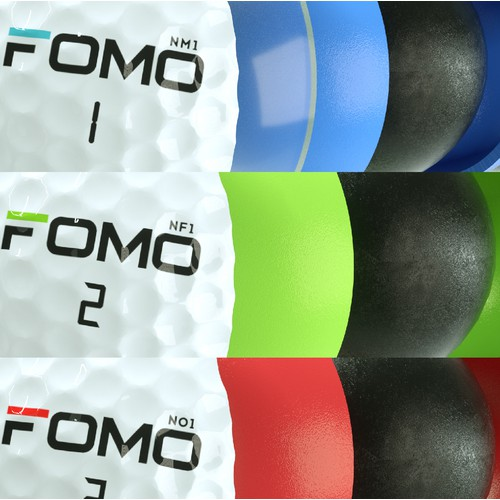 3D Rendering of Golf Ball