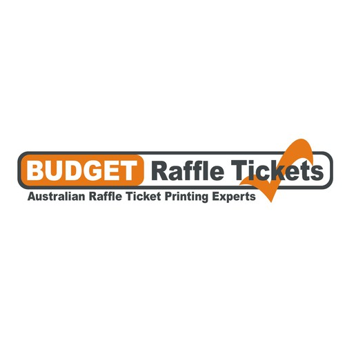 Need an updated logo for a ticket printing business with a creative design