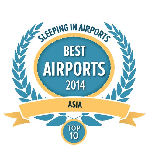 Create an Award Illustration for an airport review web site