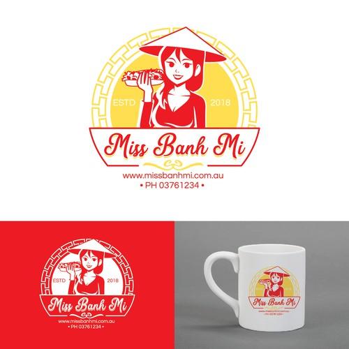 MISS BANH MI Logo Concept