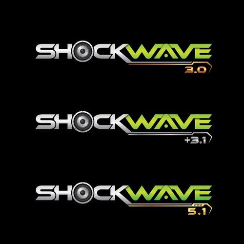Loud logo design for a new soundbar technology