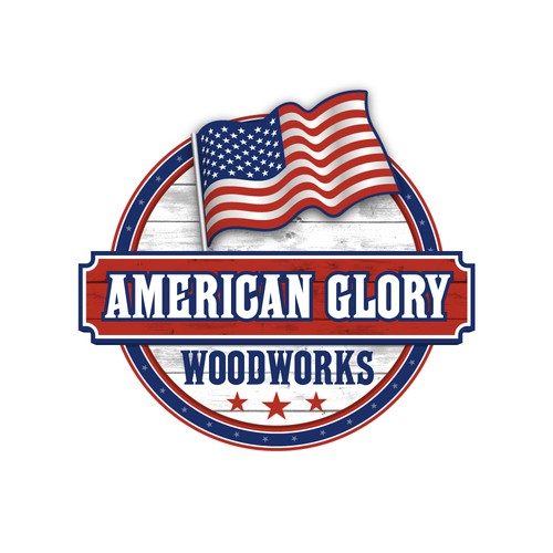 Logo for American Glory Woodworks