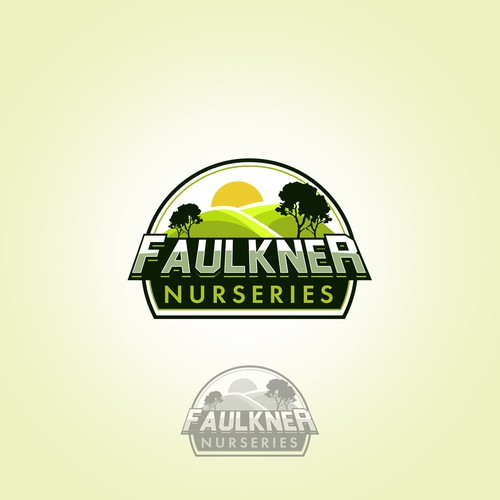 Logo for a fruit farming property