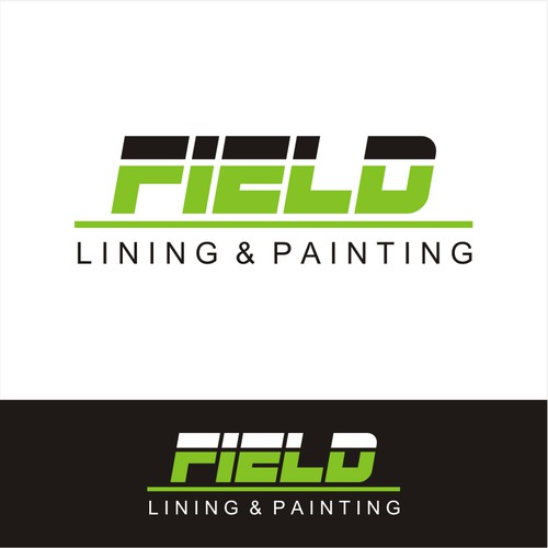 Create a professional logo for Field Lining & Painting