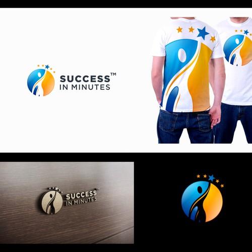 Logo Design for SuccessInMinutes Blog