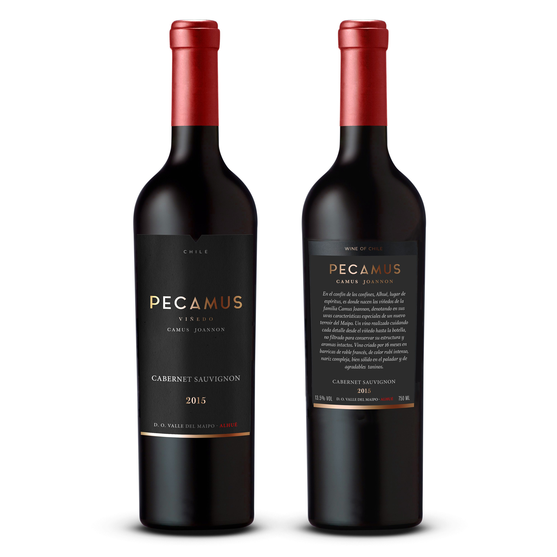 etiqueta para vino de viña familiar