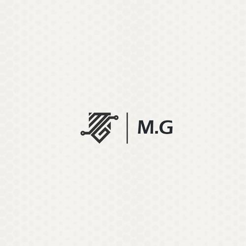 logo for Mr. M.G