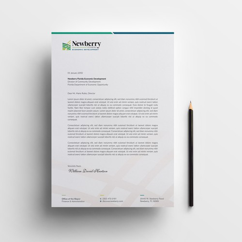 Design letterhead for a City