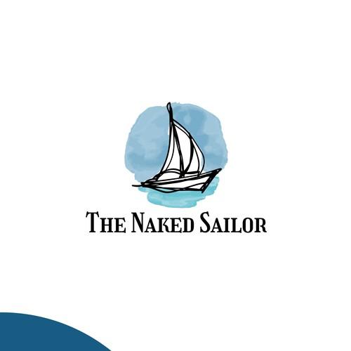 Logo concept for a sailing blog