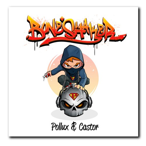 Single cover for Hip-Hop music