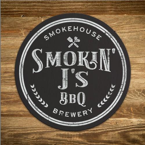 Smokin' J's logo concept